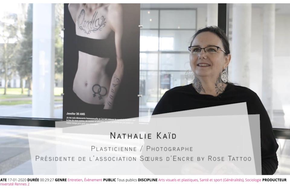Exposition S'AIMER TATOUEE à Rennes, interview de Nathalie
